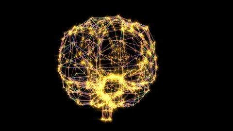 brain connections - intelligence video stock e b–roll