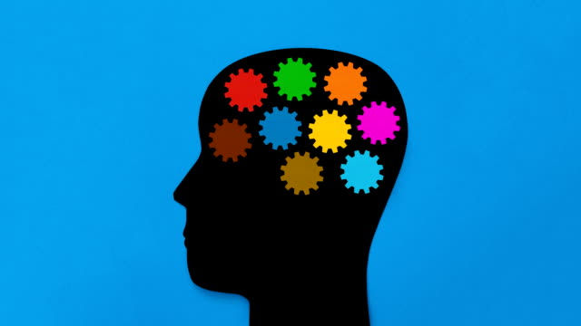 brain gears - human brain stock videos & royalty-free footage