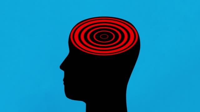 vídeos de stock, filmes e b-roll de espiral de cérebro - telencéfalo