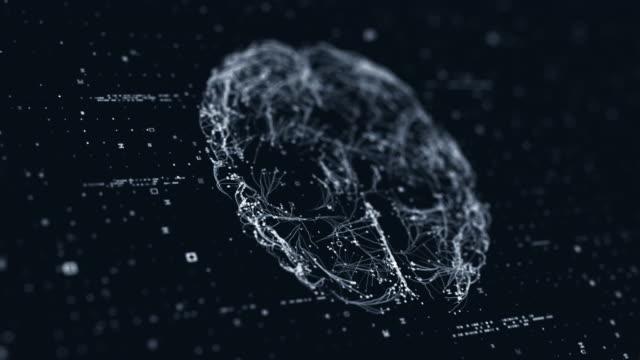 脳技術スキャン - human brain点の映像素材/bロール