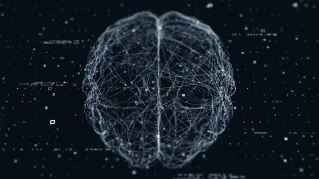 vidéos et rushes de scanner technologique du cerveau - cerveau