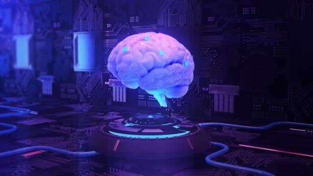 brain–computer interface - bbc stock videos & royalty-free footage