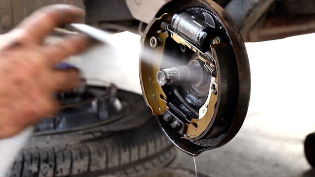 brake repair - brake stock videos & royalty-free footage