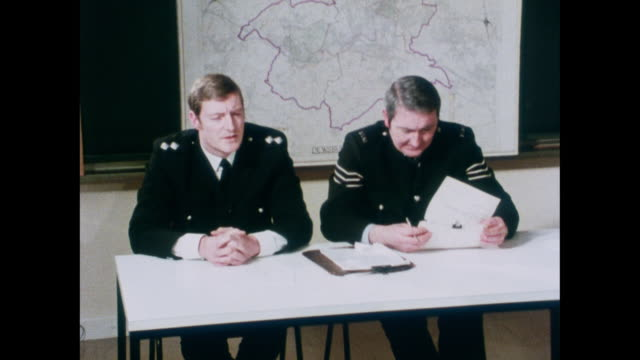 bramshill police college - 1975 stock videos and b-roll footage