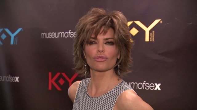 brand celebrates the launch of the big fun sexy sex book with coauthors lisa rinna and dr ian kerner new york ny united states - lisa rinna stock videos and b-roll footage