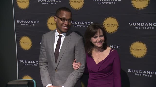 branden jacobsjenkins and sally field at 2013 tennessee williams award at 711 greenwich street on april 08 2013 in new york new york - sally field stock videos & royalty-free footage