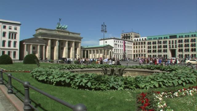 Brandenburg Gate, Berlin + close up from the Quadriga