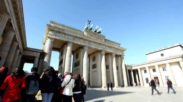 Brandenburg Gate, Berlin - Time Lapse