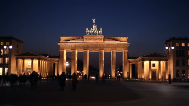 Brandenburg Gate Timelapse