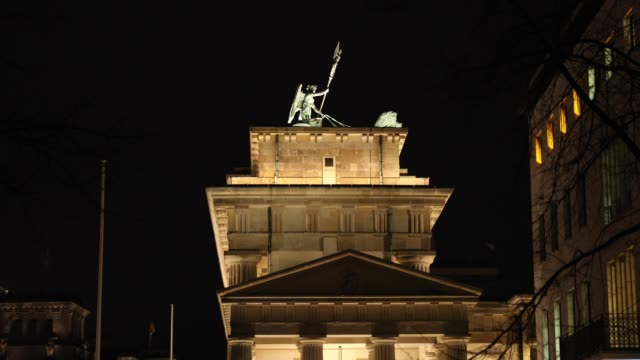 Brandenburger Tor in Berlin on February 17 2019
