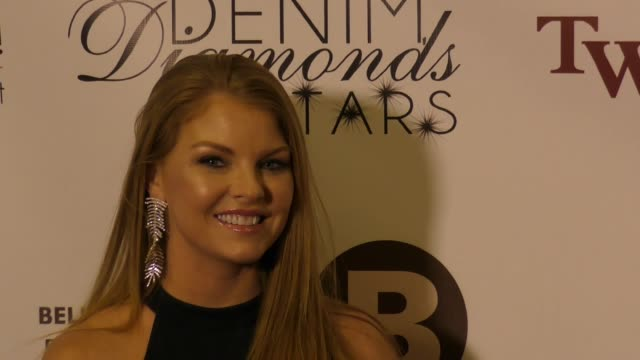 brandi redmond at the 12th annual denim diamonds and stars on october 22 2017 in westlake village california - westlake village california stock videos & royalty-free footage