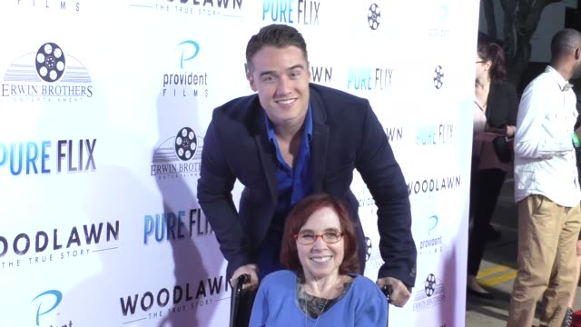 Brando Eaton at the Woodlawn Premiere at Bruin Theatre on October 05 2015 in Los Angeles California