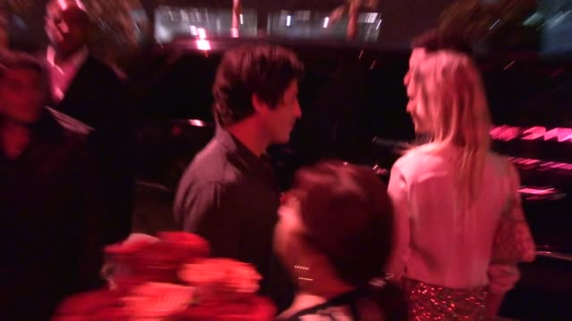 brandon davis at hooray henry's in west hollywood - celebrity sightings in los angeles, ca on 10/23/13 - 音楽マネージャー ブランドン・デイヴィス点の映像素材/bロール
