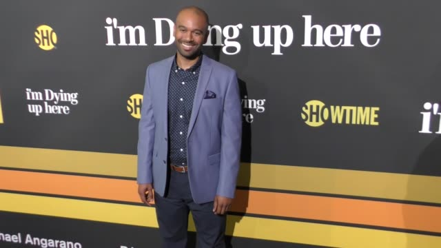 brandon ford green at the premiere of showtime's 'i'm dying up here' - arrivals on may 31, 2017 in los angeles, california. - showtime video stock e b–roll