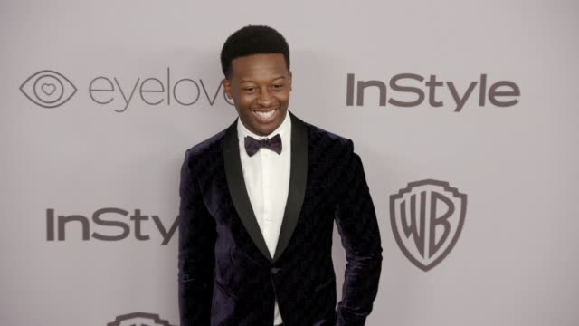 Brandon Micheal Hall at the Warner Bros Pictures and InStyle Host 19th Annual PostGolden Globes Party at The Beverly Hilton Hotel on January 7 2018...