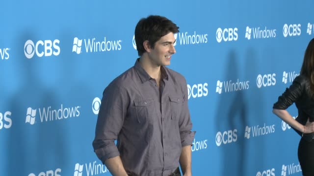brandon routh at cbs 2012 fall premiere party on 9/18/2012 in west hollywood ca - brandon routh bildbanksvideor och videomaterial från bakom kulisserna