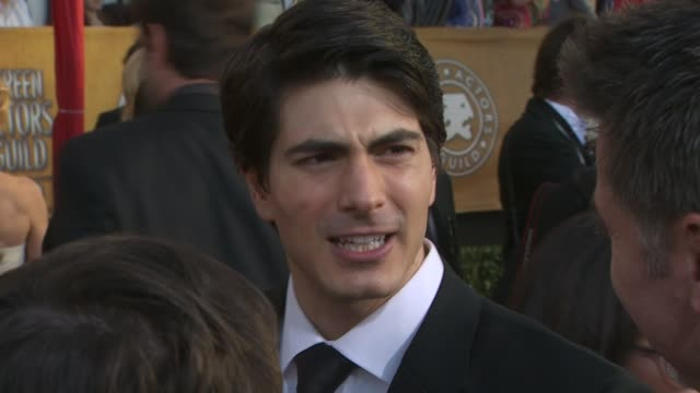 brandon routh at the 16th annual screen actors guild awards arrivals at los angeles ca - brandon routh bildbanksvideor och videomaterial från bakom kulisserna
