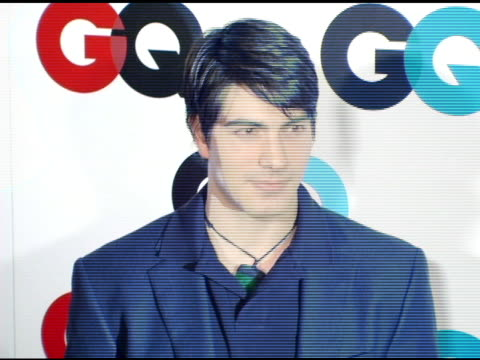 brandon routh at the gq's 2005 'men of the year' celebration at mr chow beverly hills in beverly hills california on december 2 2005 - brandon routh bildbanksvideor och videomaterial från bakom kulisserna