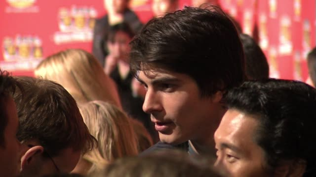 brandon routh at the spike tv�s 2006 video game awards at the galen center in los angeles california on december 8 2006 - brandon routh bildbanksvideor och videomaterial från bakom kulisserna