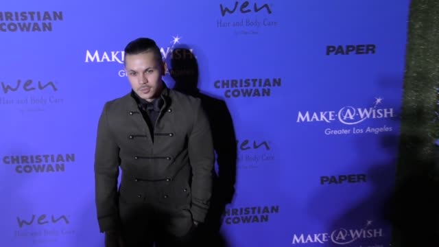 Brandon Schram at the PAPER Magazine Runway Benefit For MakeAWish Foundation on October 24 2017 in Los Angeles California