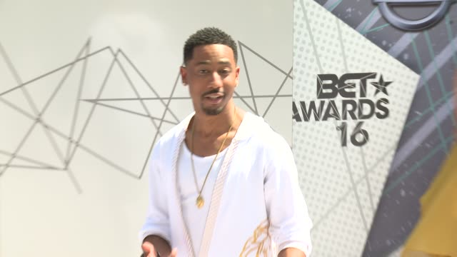 Brandon T Jackson at 2016 BET Awards in Los Angeles CA