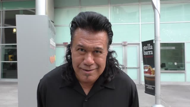 INTERVIEW Branscombe Richmond talks about his new Showtime TV Series Roadies outside ArcLight Theatre in Hollywood at Celebrity Sightings in Los...