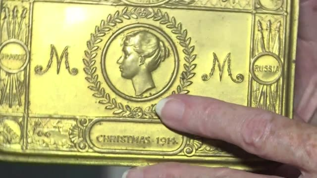 a brass tin that once contained cigarettes and a pencil is the only relic melanie henwood has of her great grandfather enoch davis a british soldier... - brass stock videos & royalty-free footage