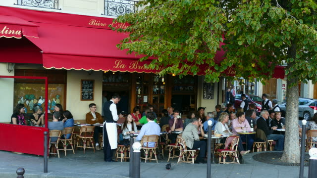 Brasserie de l'Isle Saint-Louis, Quai de Bourbon, Paris, France, Europe