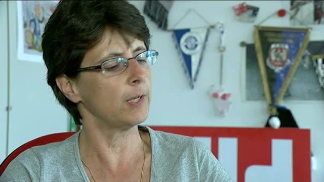 Germany beat Argentina INT Ulrika Sickenberger interview SOT