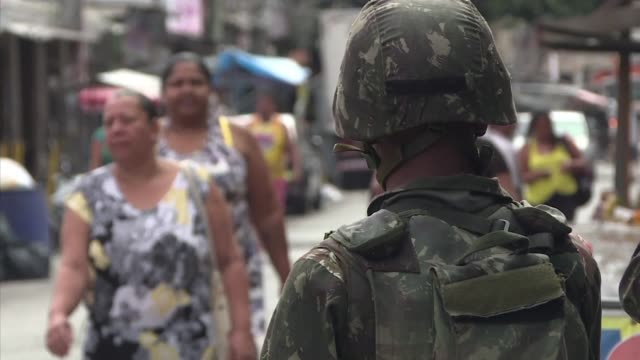 brazil is to send in the army in an increasingly desperate fight to tame runaway gang violence in rio de janeiro following a decree signed friday by... - tame stock videos & royalty-free footage