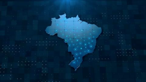 vídeos y material grabado en eventos de stock de 4k brasil mapa enlaces 4k con detalles de fondo completos - europa continente