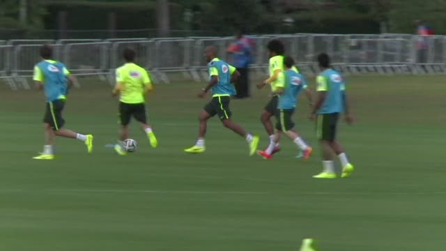 Brazil midfielder Fernandinho says the sides quarter final match against Colombia on Friday will be the biggest of their lives