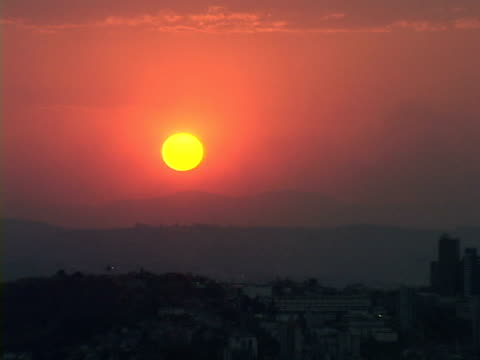 zo, ws, ha, brazil, minas gerais, belo horizonte, cityscape at sunset - belo horizonte stock videos and b-roll footage