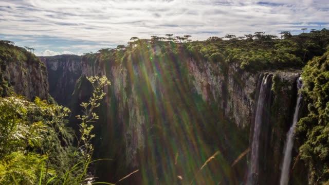 vídeos y material grabado en eventos de stock de brazil parks time lapse - vista geral