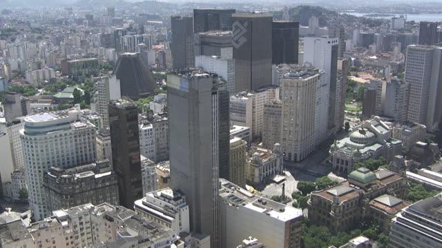 Brazil, Rio de Janeiro: Downtown and business buildings