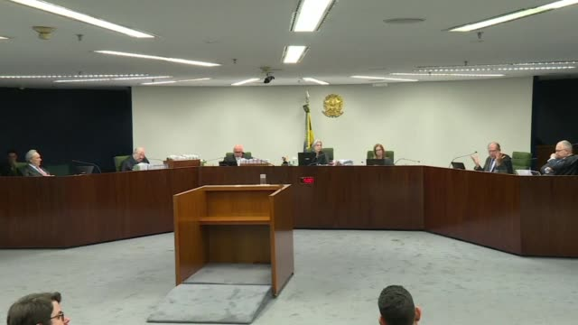 brazil supreme court debates an appeal that could free former president luiz inacio lula da silva - former stock videos and b-roll footage