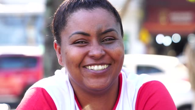Brazilian Afro Woman Portrait