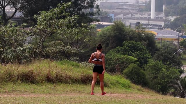 brazilian athlete ana claudia lemos silva during a training session at the shoulder of the imigrantes highway on september 19, 2020 in diadema,... - pan american highway stock videos & royalty-free footage