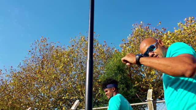 brazilian bobsledders edson martins, rafael souza, luis henrique bacca, jefferson sabino, gustavo ferreira, erick vianna and edson luques bindilatti... - bobsledding stock videos & royalty-free footage