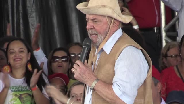 Brazilian farmers from the poor north eastern Bahia state known for being a Lula stronghold received the former president on Saturday with open arms...