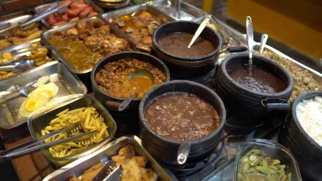 brazilian feijoada - hearth oven stock videos & royalty-free footage