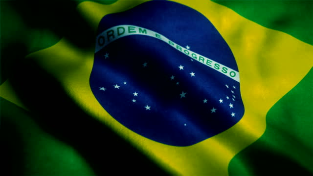 brazilian flag - brazil stock videos & royalty-free footage