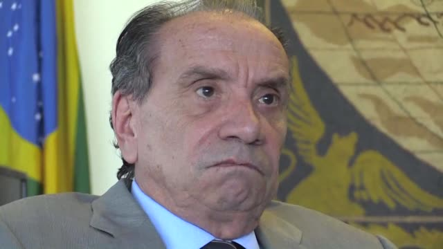 brazilian minister of foreign affairs aloysio nunes tells afp that they expected more from the european union regarding trade negotiations with the... - mercosur stock videos & royalty-free footage