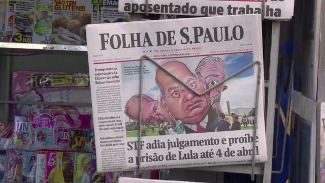 Brazilian newspapers Friday highlighted a Supreme Court decision that gave former president Luiz Inacio Lula da Silva a temporary prison reprieve as...