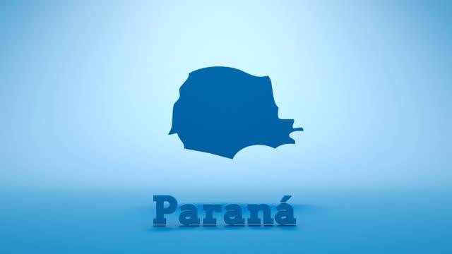 Brazilian State of Parana