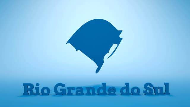 vídeos de stock e filmes b-roll de brazilian state of rio grande do sul - amazonas state brazil