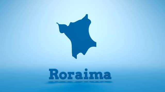 brazilian state of roraima - roraima state stock videos and b-roll footage