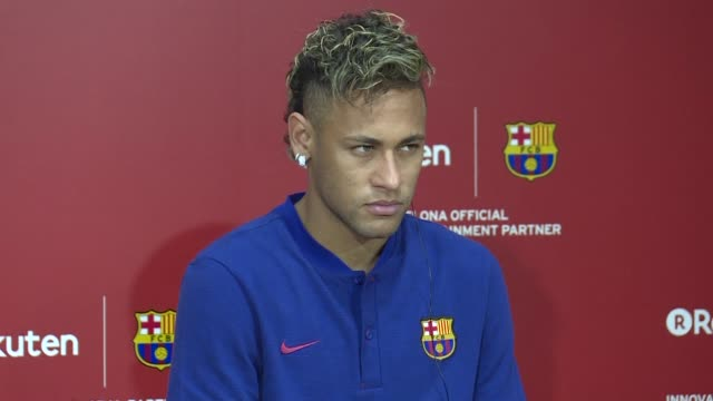 brazilian superstar neymar will be sidelined for up to three months perilously close to the eve of the world cup after undergoing surgery on his... - neymar da silva stock videos & royalty-free footage