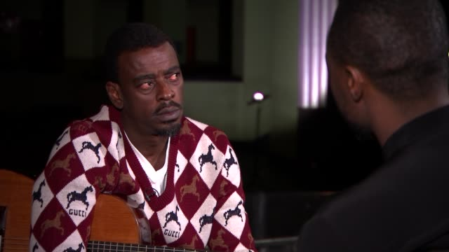 Brazilian superstar Seu Jorge performs the hits of David Bowie and talks about the issues facing his country ENGLAND London INT Seu Jorge interview...