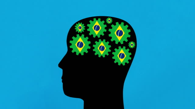 brazilian thoughts - male likeness stock videos & royalty-free footage
